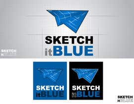 nº 211 pour Logo Design for Sketch It Blue par Giulio2000
