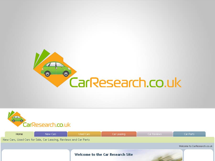 Proposition n°                                        158                                      du concours                                         Logo Design for CarResearch.co.uk