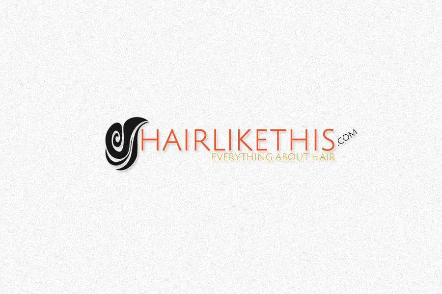 Contest Entry #79 for Logo Design for HairLikeThis.com