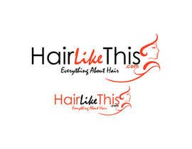 #130 cho Logo Design for HairLikeThis.com bởi logoustaad