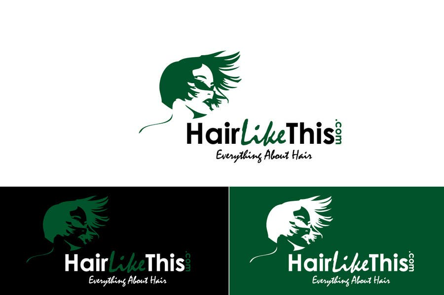 Contest Entry #85 for Logo Design for HairLikeThis.com