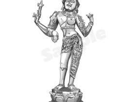 Nro 20 kilpailuun Sketches of deities for a new book to be published on Hinduism käyttäjältä SmitaGDutta