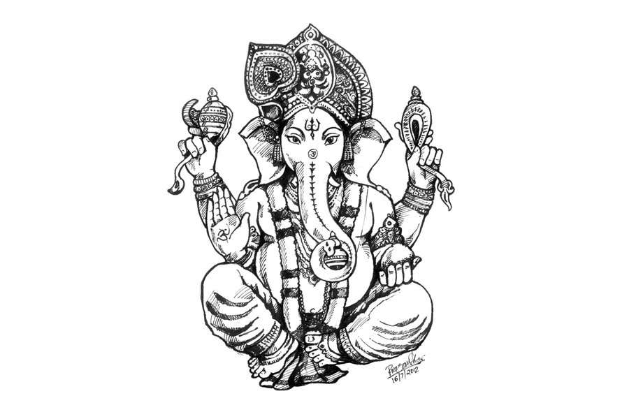 Konkurrenceindlæg #                                        49                                      for                                         Sketches of deities for a new book to be published on Hinduism