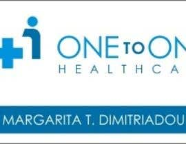 #427 pentru Logo Design for One to one healthcare de către magied