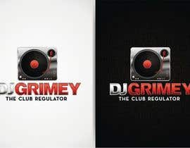 "#109 para Logo Design for Dj Grimey ""The Club Regulator""! por flov"