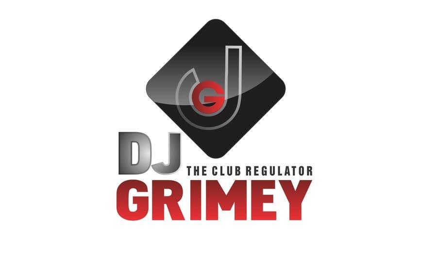 """Inscrição nº 207 do Concurso para Logo Design for Dj Grimey """"The Club Regulator""""!"""