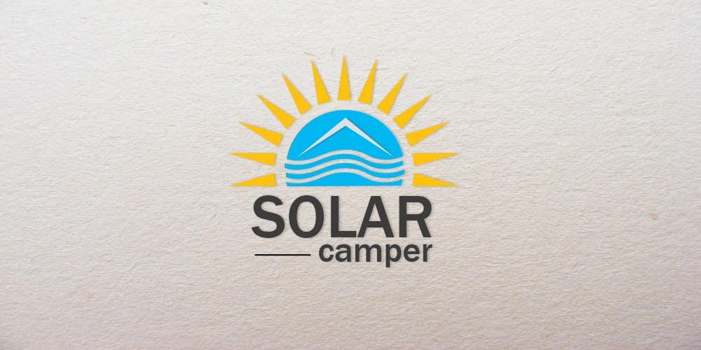 Inscrição nº                                         89                                      do Concurso para                                         Design a Logo for Solar Camper