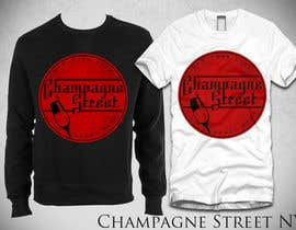 #11 para Street Wear Design for Champagne Street por bamz23