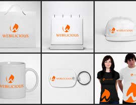 #221 for Logo Design for Webilicious by tanuja226