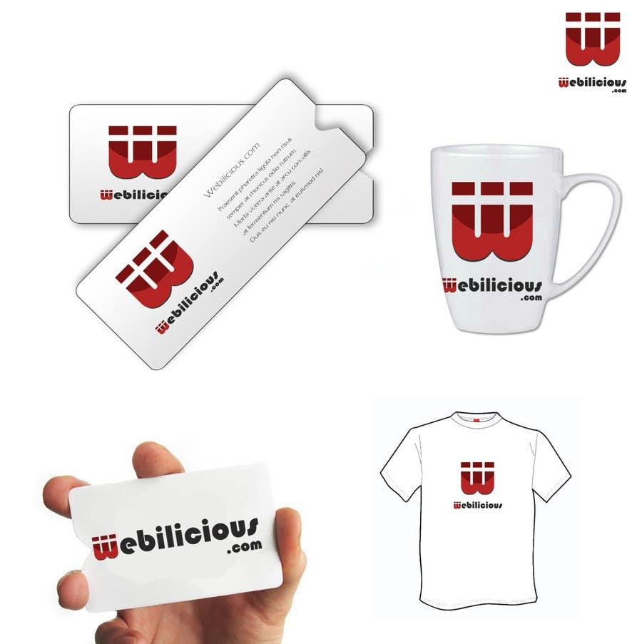 Kilpailutyö #256 kilpailussa Logo Design for Webilicious