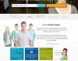 #3 untuk Design a Website for Fresh Talent oleh suryabeniwal