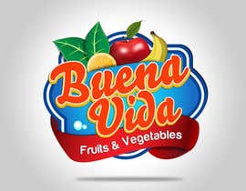 nº 75 pour Design a Logo for Buena Vida Fruits and Vegtables par Jhustin