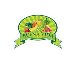 nº 87 pour Design a Logo for Buena Vida Fruits and Vegtables par rajibdebnath900