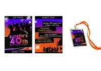 Bài tham dự #8 về Graphic Design cho cuộc thi VIP Birthday Invitation to go in Lanyard