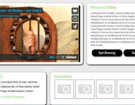 webmetek tarafından Design a Website Mockup for BxRecords.TV için no 1