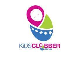 #80 para Design a logo for a website named kidsclobber.com.au por marlopax