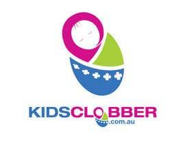 #108 para Design a logo for a website named kidsclobber.com.au por marlopax