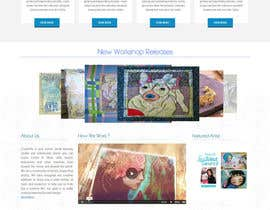 #49 para Home Page Design For www.iCreateFlix.com por lassoarts
