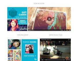#13 para Home Page Design For www.iCreateFlix.com por VLVali