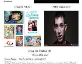 #51 para Home Page Design For www.iCreateFlix.com por sherire