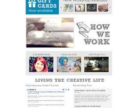 #9 para Home Page Design For www.iCreateFlix.com por joseyde01
