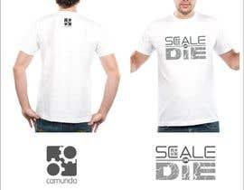 #5 untuk Design a T-Shirt for camunda / scale or die oleh lanangali