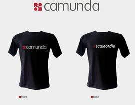 #22 untuk Design a T-Shirt for camunda / scale or die oleh backbon3