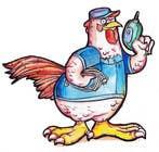 Need a Cartoon Rooster -- Cable TV Service Man Created! için Graphic Design1 No.lu Yarışma Girdisi