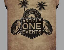 #108 for Design a Logo for 'Article One Events' af hazeemmuhammed