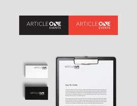 #95 for Design a Logo for 'Article One Events' af sanuri