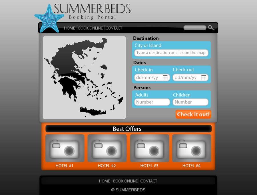 Contest Entry #74 for Website Design for SUMMERBEDS