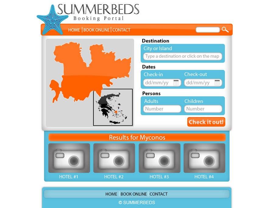 Contest Entry #76 for Website Design for SUMMERBEDS