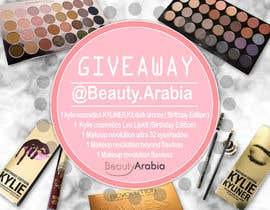 Nro 12 kilpailuun Design a give away Advertisement makeup käyttäjältä xangerken