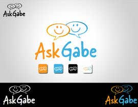 #473 para Logo Design for AskGabe por blackbilla