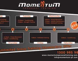 #12 for Design an eye catching timetable for my Group Personal Training Program by shalinshah91