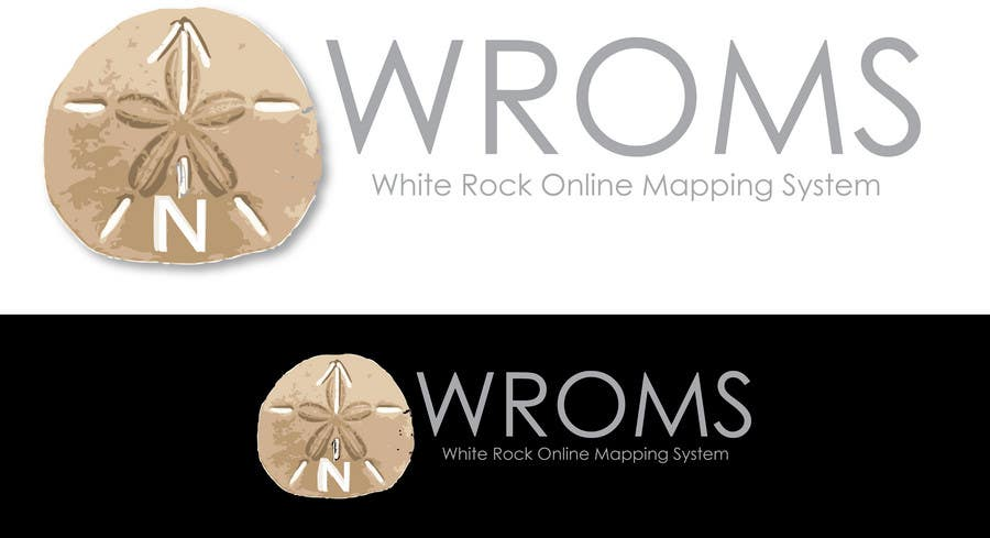 Proposition n°                                        55                                      du concours                                         Logo Design for City of White Rock's GIS Online Mapping System