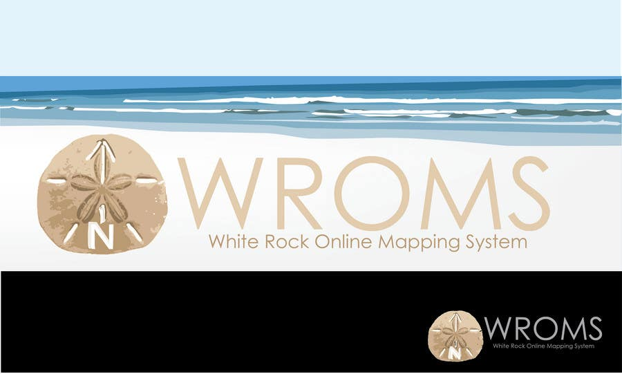 Penyertaan Peraduan #                                        56                                      untuk                                         Logo Design for City of White Rock's GIS Online Mapping System