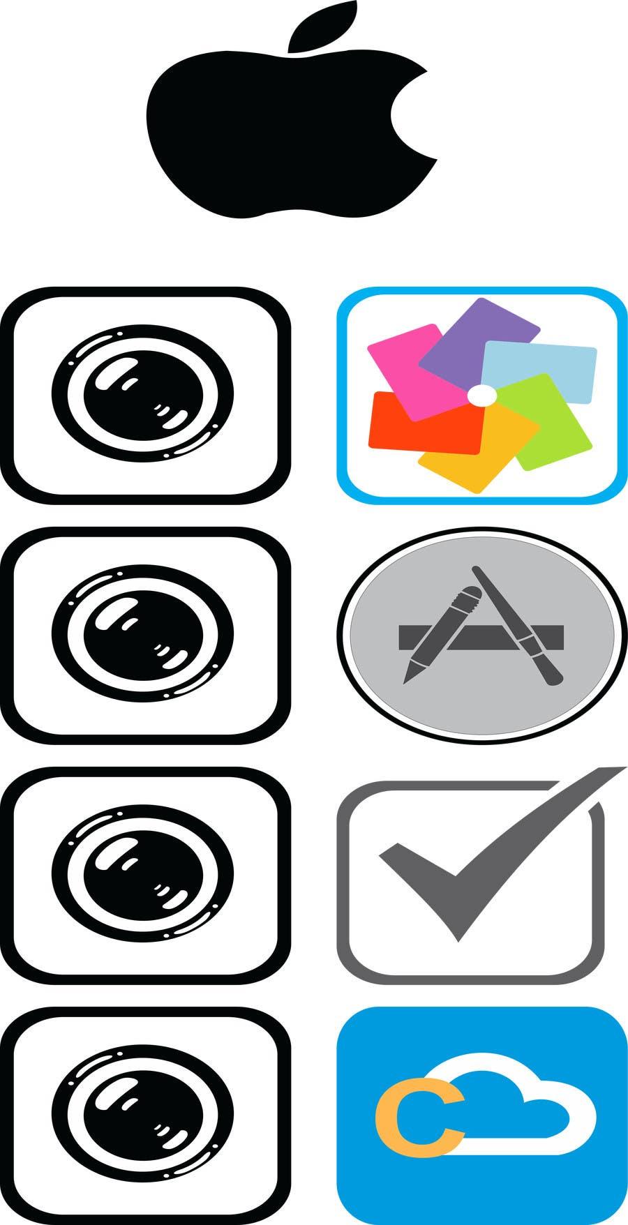Inscrição nº                                         1                                      do Concurso para                                         Design a Collection of Logos / Icons for Websites/Apps
