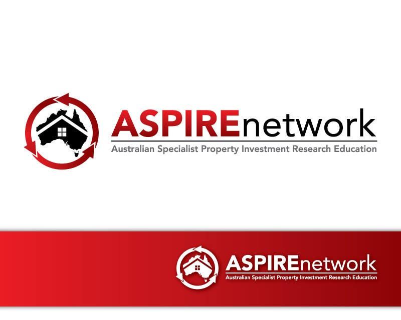 Penyertaan Peraduan #363 untuk Logo Design for ASPIRE Network