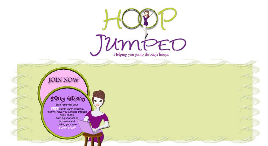 Contest Entry #                                        121                                      for                                         Logo Design for Hoop Jumped