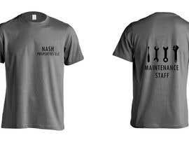 Nro 6 kilpailuun Design a T-Shirt for Apartment Maintenance Staff käyttäjältä sidrareza