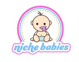 #143 for Niche Babies Logo by anazvoncica