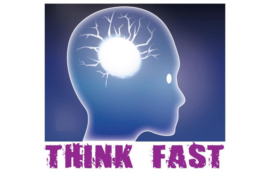 Konkurrenceindlæg #                                        50                                      for                                         Graphic Design for Think Fast