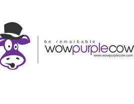 oscarhawkins tarafından WOW! Purple Cow - Logo Design for wowpurplecow.com - Lots of creative freedom, Guaranteed Winner! için no 100