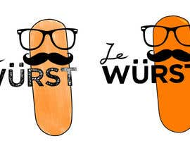 #6 for Ze Wurst Food Truck Logo af KeiTagura