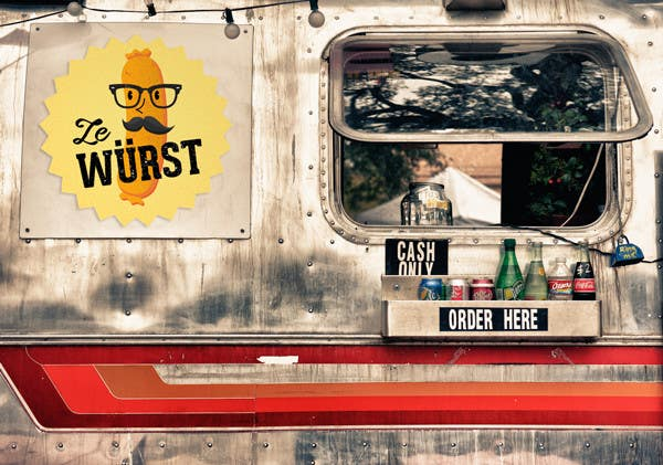 Contest Entry #30 for Ze Wurst Food Truck Logo