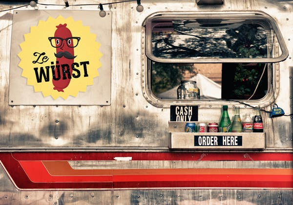 Logo Design Contest Entry #30 for Ze Wurst Food Truck Logo