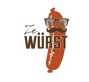 #2 para Ze Wurst Food Truck Logo por dworker88