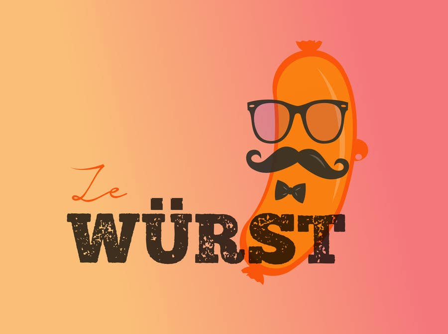 Contest Entry #                                        18                                      for                                         Ze Wurst Food Truck Logo