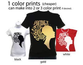 #65 para T-shirt Design for natural hair tshirt line por asacharles